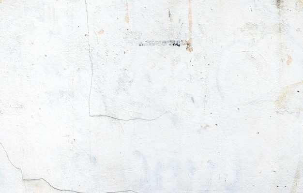 White Color Paint On Grunge Cement Walltexture Background Premium Photo