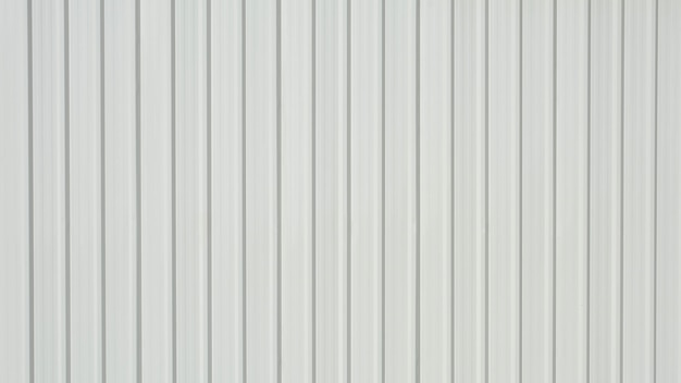 White corrugated metal sheet Premium Photo