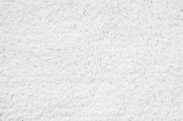 White cotton carpet textures and surface Free Photo