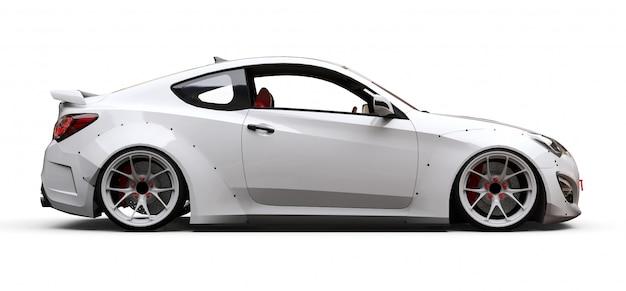 White coupe sports car Premium Photo