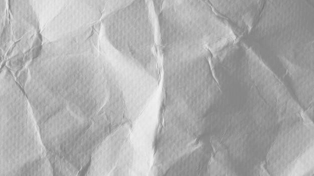 白いしわ紙の質感 Premium写真