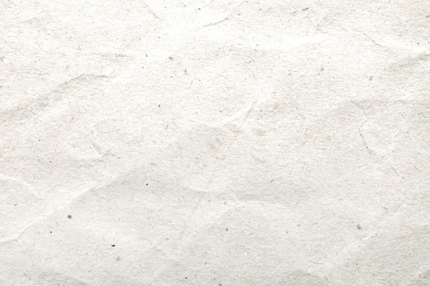 White crumpled paper pattern and texture background. Premium Photo