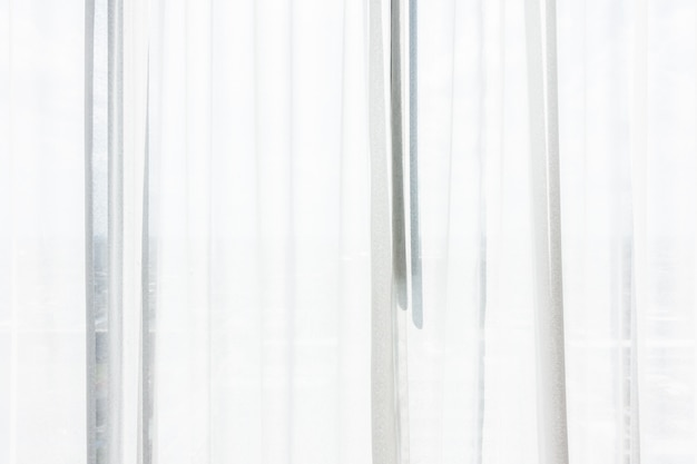 White curtain window Free Photo