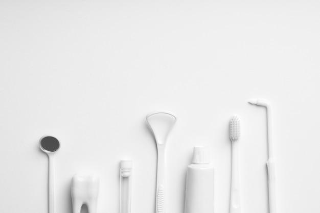 White dental care equipment Premium Photo