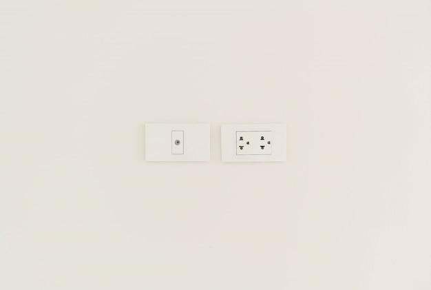 White electric socket Free Photo