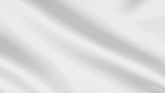 White fabric texture background Premium Photo