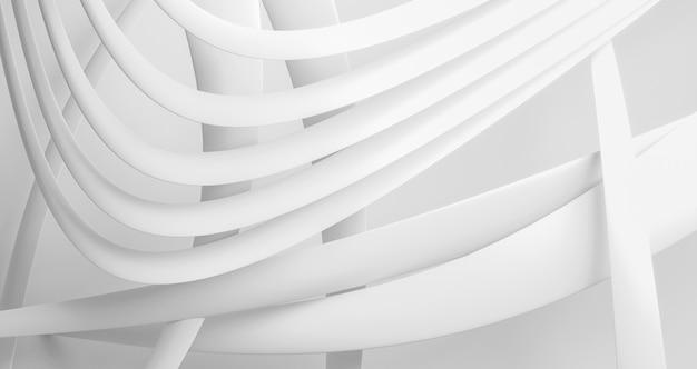 Sfondo bianco forme geometriche Foto Gratuite