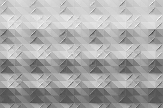 White gray pattern with folds in origami style Premium Photo