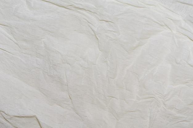 Белый слоновой кости, мятой бумаги текстуры фона Premium Фотографии