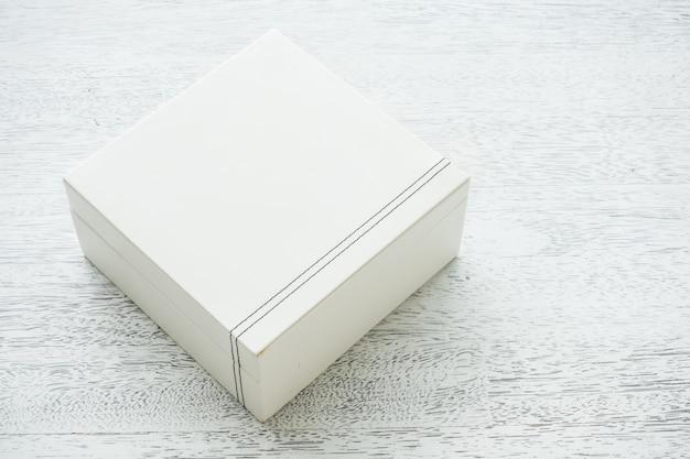 Белая кожаная коробка Бесплатные Фотографии