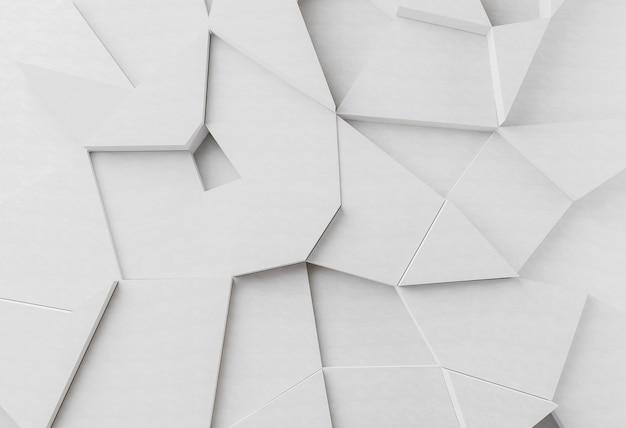 흰색 현대 기하학적 벽지 프리미엄 사진
