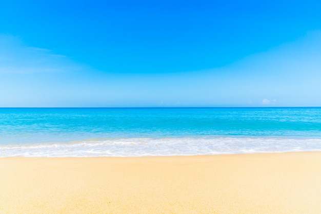 White nature beach tropical landscape Free Photo