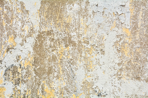 Exceptionnel The White Old Paint Texture Is Chipping And Cracked At The ...
