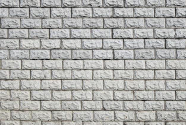 흰색 페인트 벽돌 타일 벽 배경 텍스처 패턴; 확대 프리미엄 사진