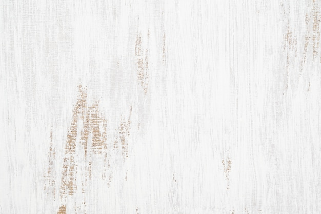 White painted wood texture seamless rusty grunge background Premium Photo