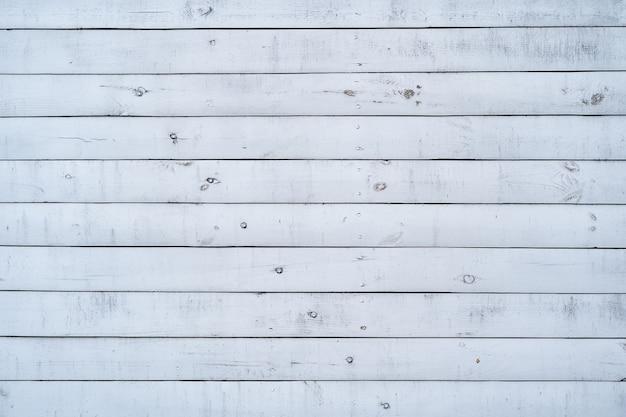 背景とテクスチャの白い塗られた木製の壁。 無料写真