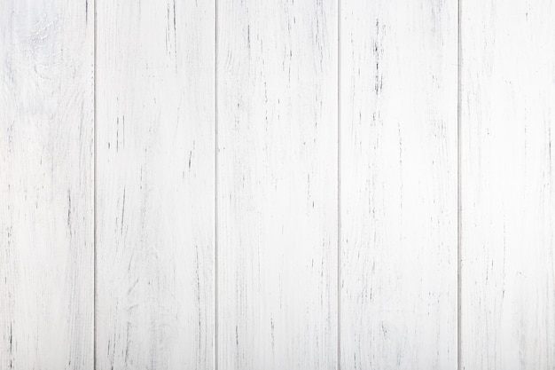 White painted wooden texture. natural background Premium Photo