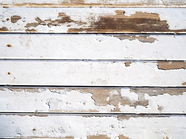 White painted wooden texture Premium Photo