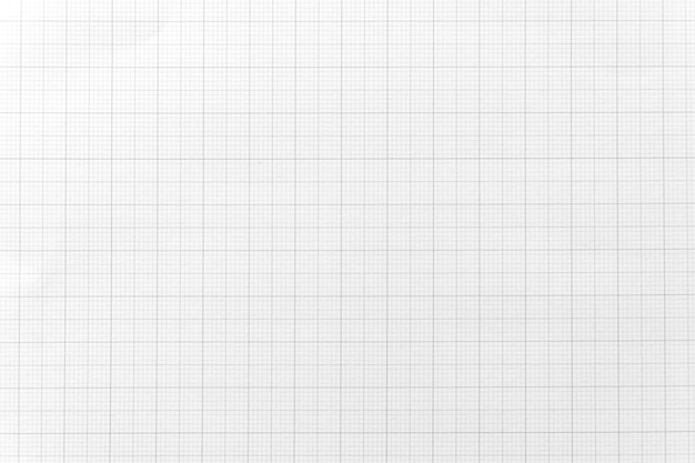 White paper with grid line pattern for background. close-up. Premium Photo