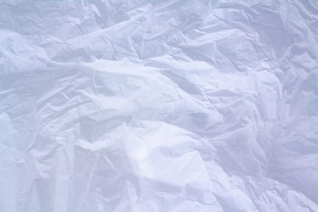 White plastic bag texture background Premium Photo