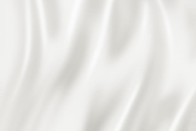 White silk background texture. 3d illustration Premium Photo