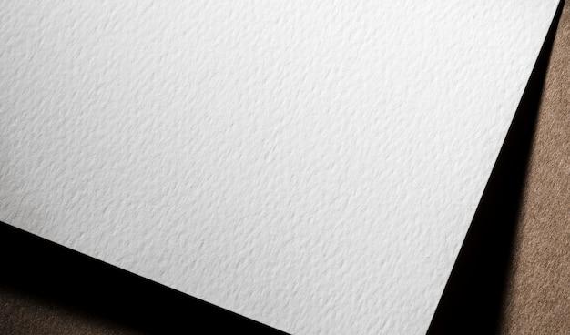 흰색 질감 된 종이 브랜딩 클로즈업 무료 사진
