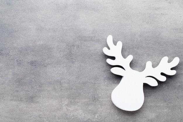 灰色の白い木の装飾 Premium写真