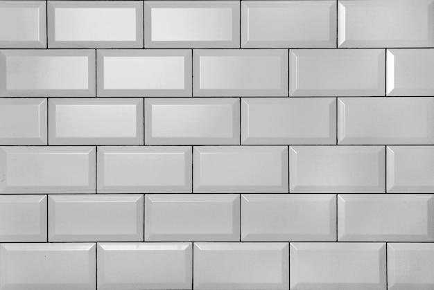 화이트 빈티지 벽돌 벽 무료 사진