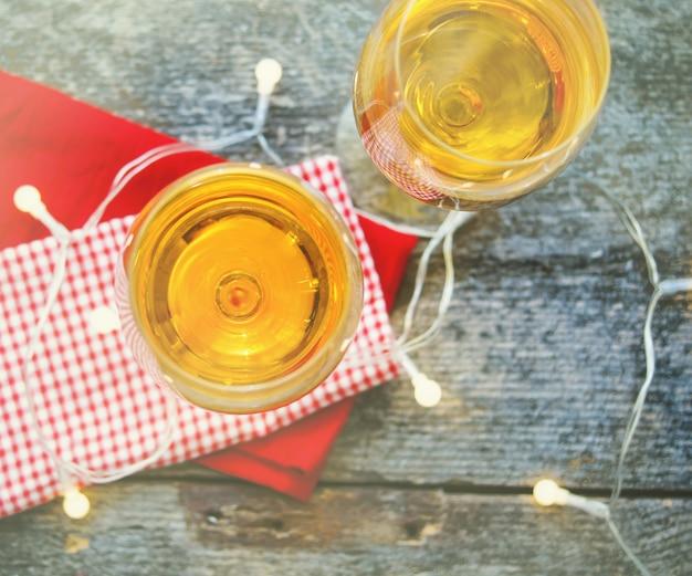White wine Premium Photo