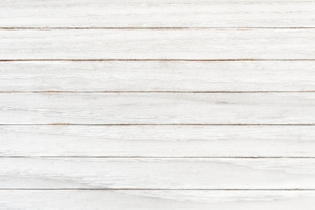 White wooden texture flooring background Free Photo