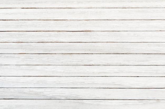 White wooden texture flooring background Free Photo