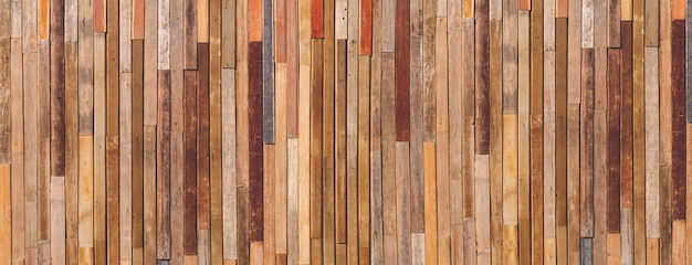 Wide wood texture background, copy space. Premium Photo