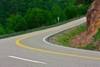Winding road  lane Free Photo