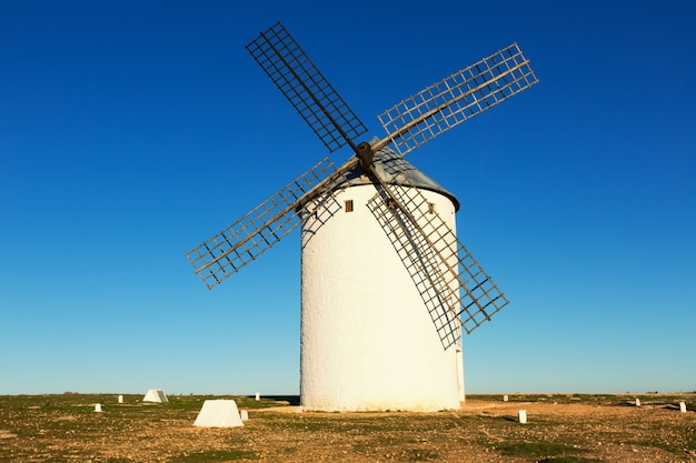 Windmill in day time Premium Photo