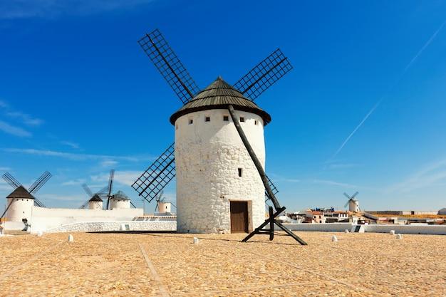 Windmills in campo de criptana Free Photo
