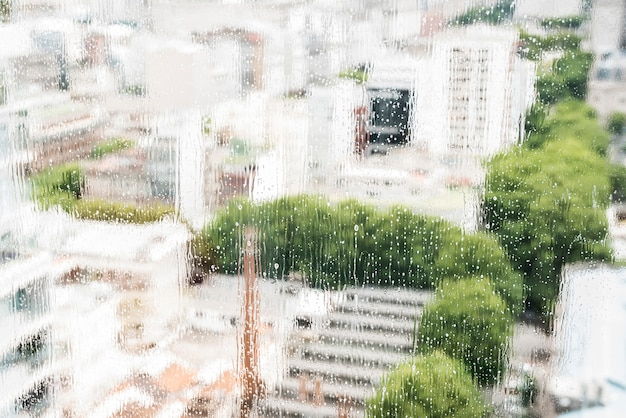 Window cleaning concept Free Photo