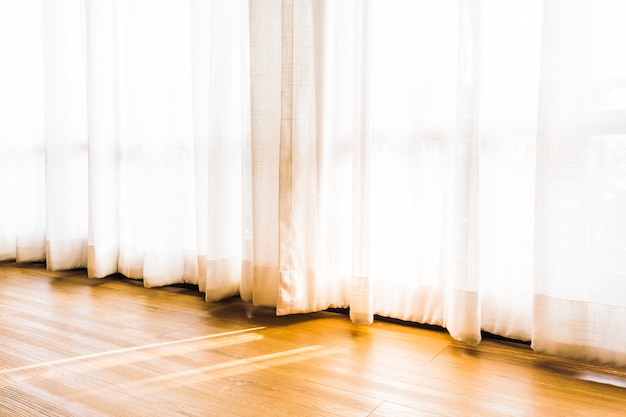 Window curtains Free Photo