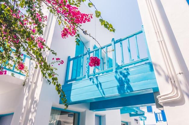 Window greek mykonos summer mediterranean Free Photo