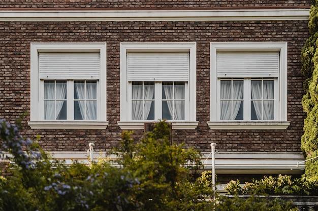 Finestre di condominio in città Foto Gratuite