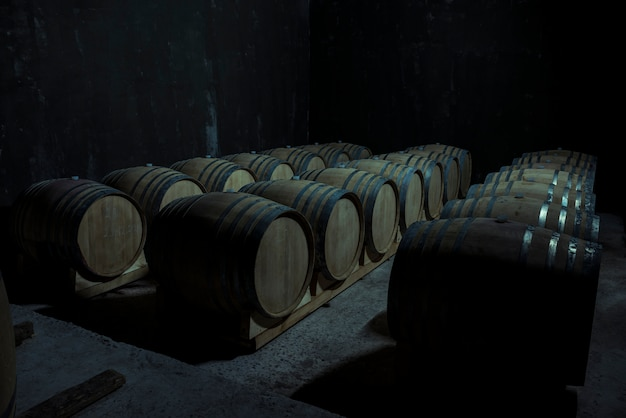 Wine cellar Free Photo