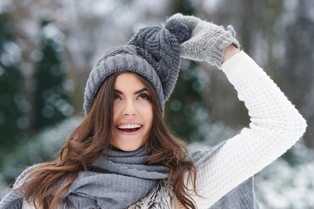 冬服はトリックをするのが好きです 無料写真
