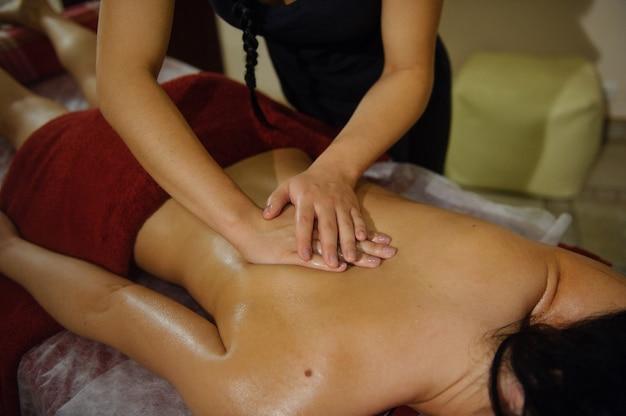 Two Girl Massage