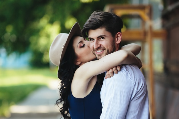 Image result for woman kissing her men