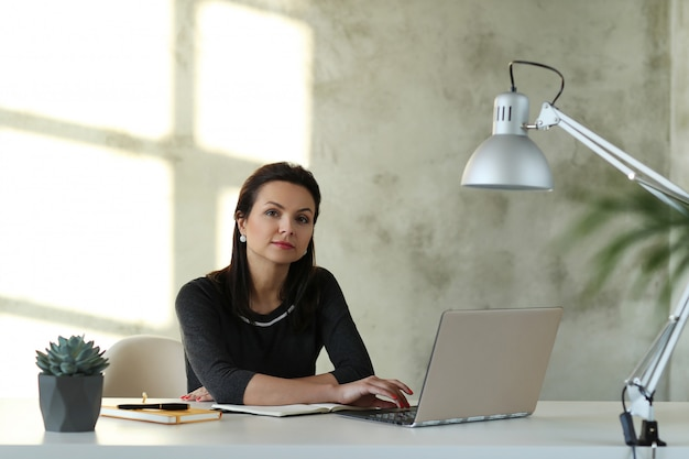 Woman at office Free Photo