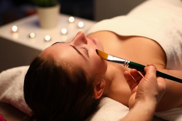 Woman in spa portrait Premium Photo