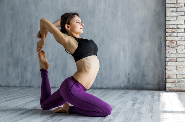 Woman stretching her back Free Photo