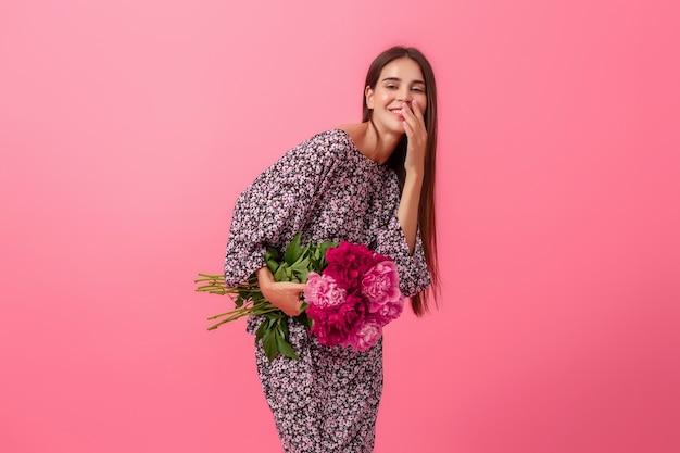 Женский стиль на розовом фоне Бесплатные Фотографии
