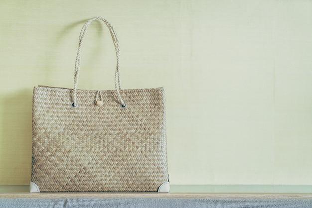 Women bags on sofa Free Photo