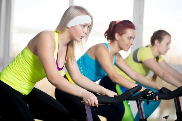 Women riding a bike Free Photo