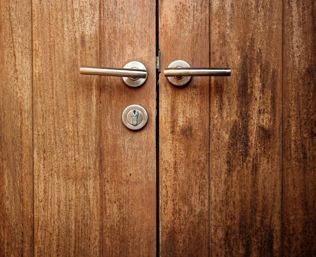 Wood door Free Photo